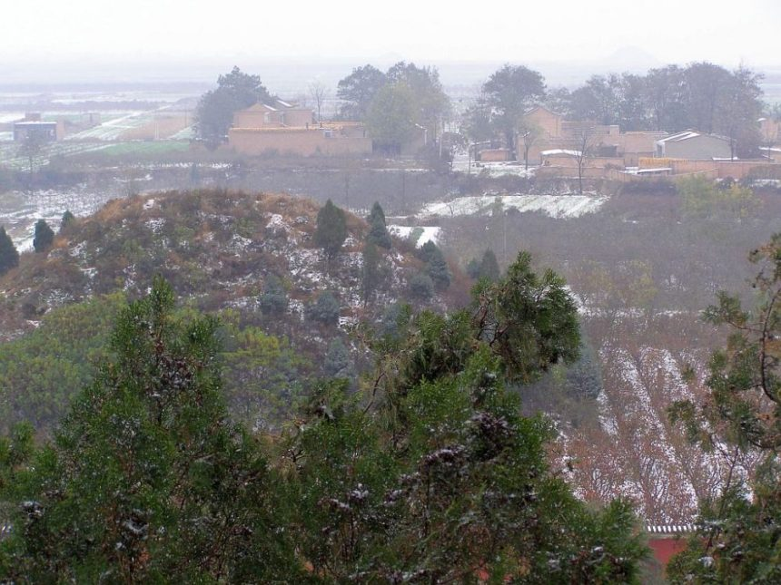 Hügelgrab bei Xi'an