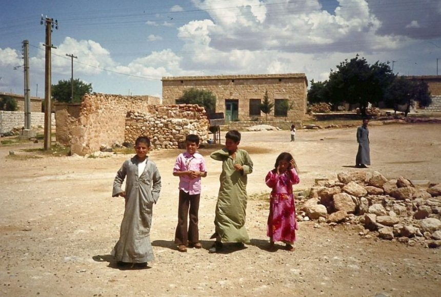 Kinder in Palmyra 1982