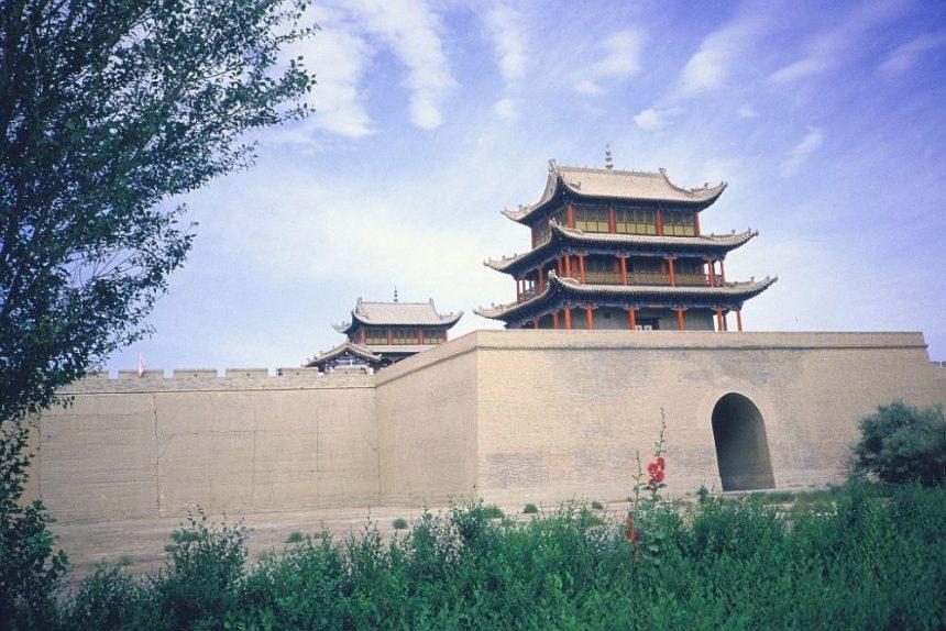 Die Festung Jiayuguan