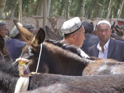 Kashgar an der Seidenstraße