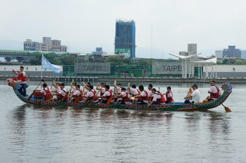 Drachenboot Fest in Taipeh