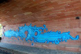 Streetart am Main