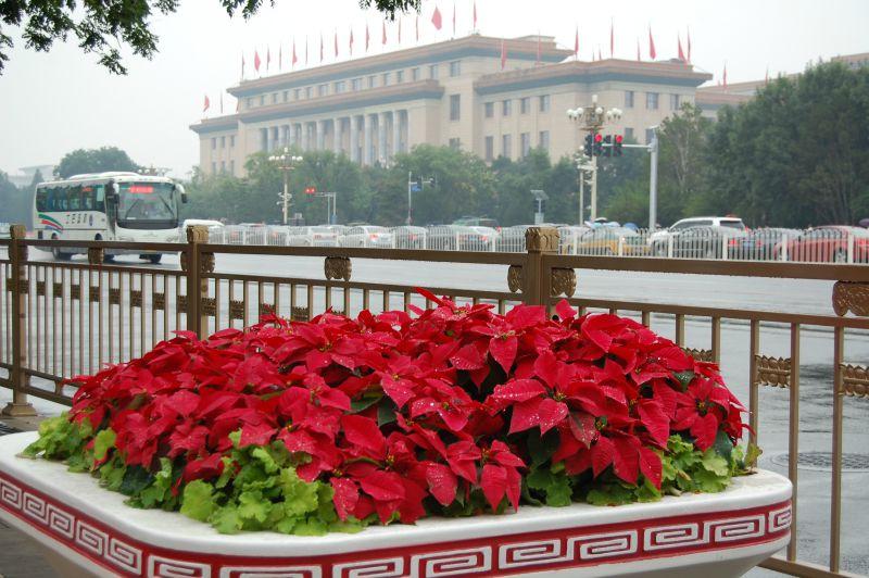 Tiananmen Platz nach der Parade