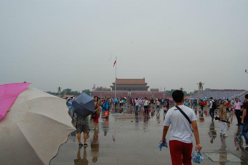 Nach der Parade Chinas Hauptstadt