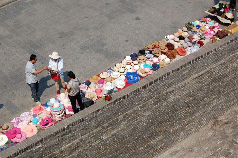 Hutverkäuferin
