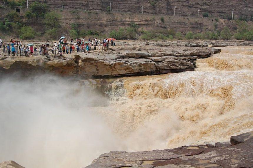 Auch heute noch ist die Gewalt des Gelben Flusses nicht zu unterschätzen. Aber es gibt eine historische Flut,