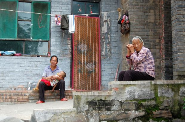 Authentisches Reisen - in einem Dorf in Shanxi
