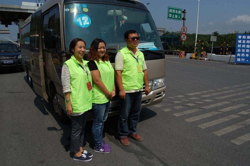 Reiseleiter unterwegs in Shanxi