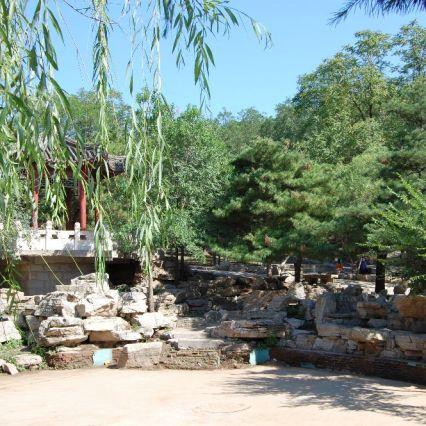 Auf dem Weg zum Fahai Tempel