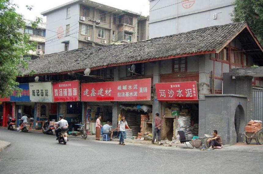 Die letzten Reste der Altstadt von Chengdu 2013