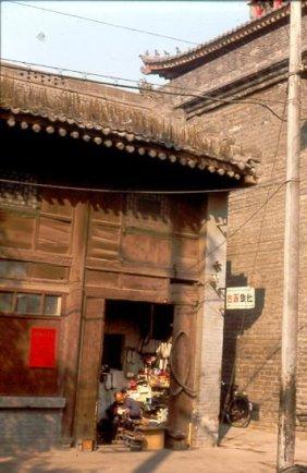 Altes Gebäude im Muslimviertel