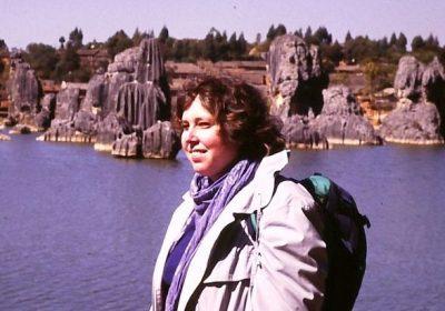 Ulrike in China 1987