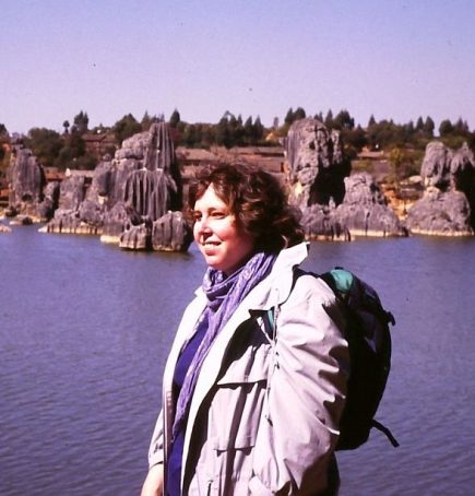Ulrike in China 1987