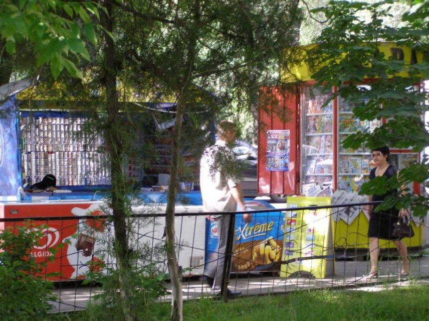 Almaty Straßenszene