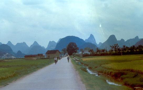 Yangshuo Landschaft