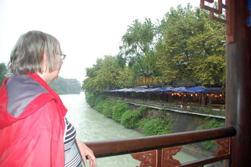 Ulrike Hecker unterwegs für den Bambooblog