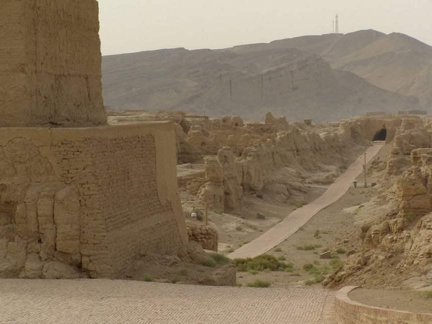 Blick über die Ruinen