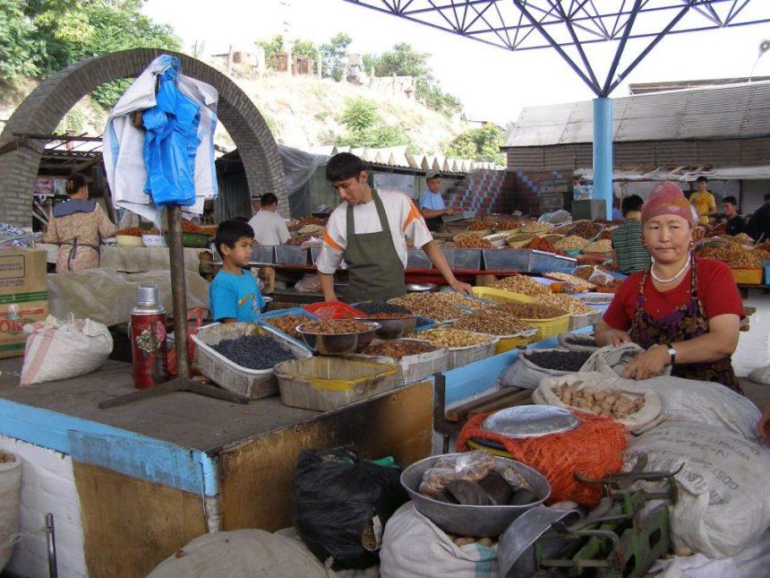 Osh - auf dem Bazar