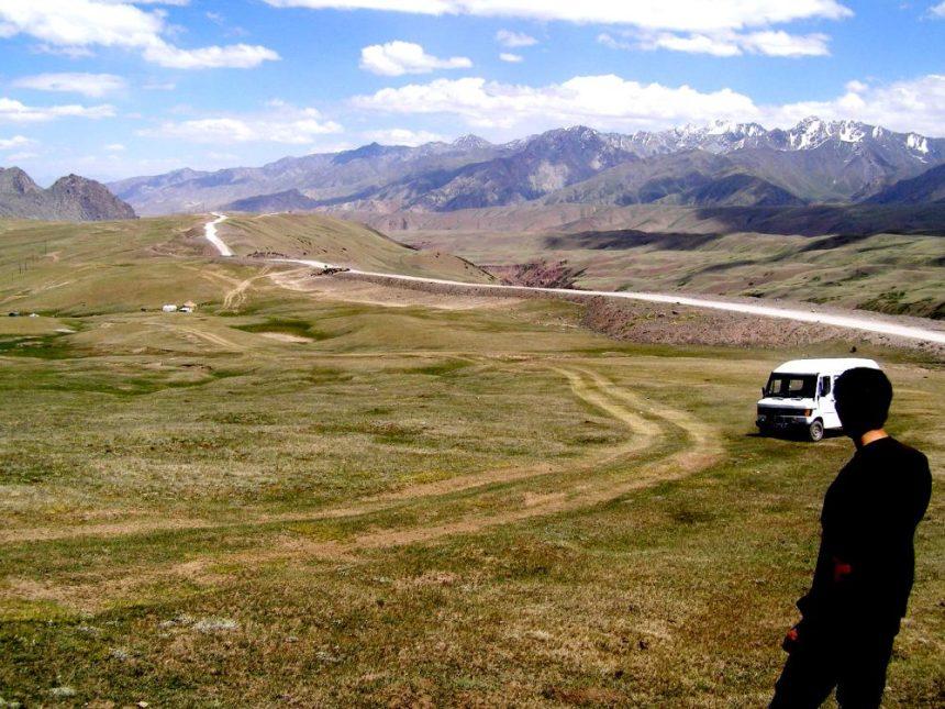 Blick auf den Pamir Highway