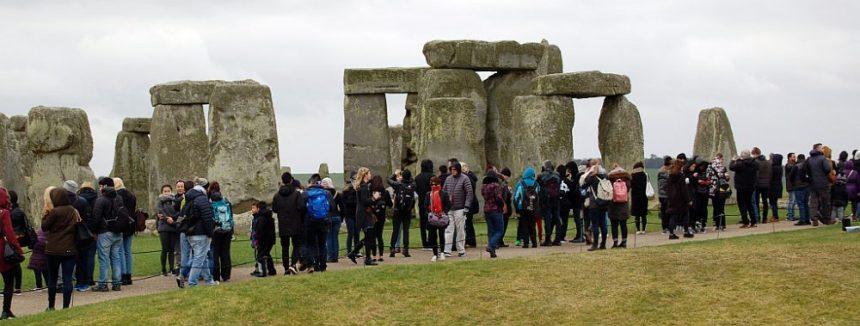 Stonehenge Besucher