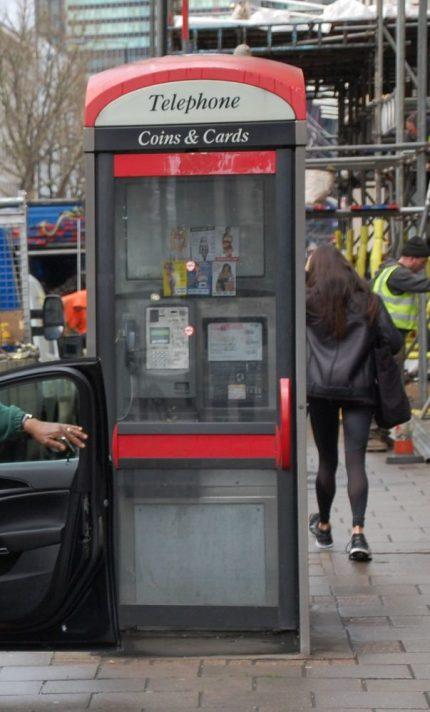 London Tipps: Telefonzelle