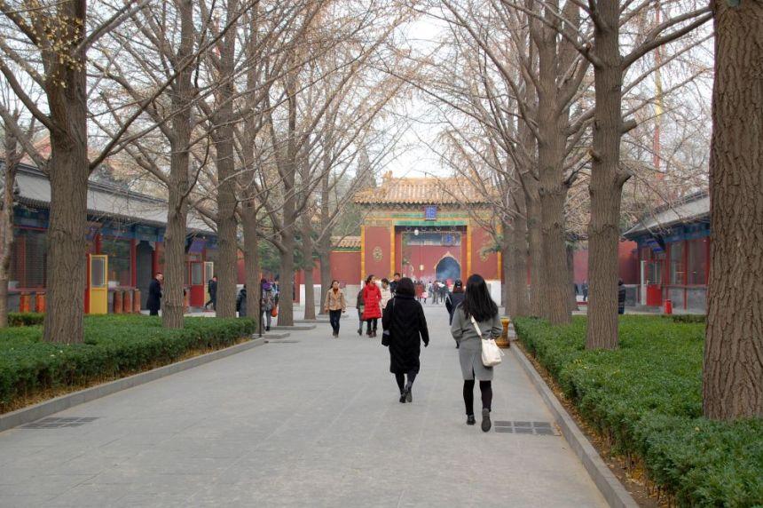 Lama-Tempel Yonghegong Alte Allee
