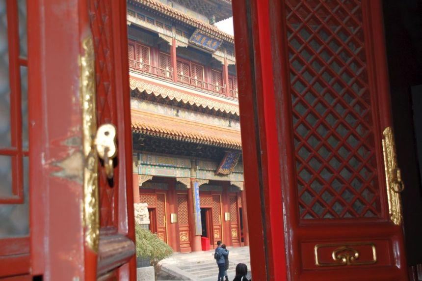 Lama-Tempel Yonghegong - Tür
