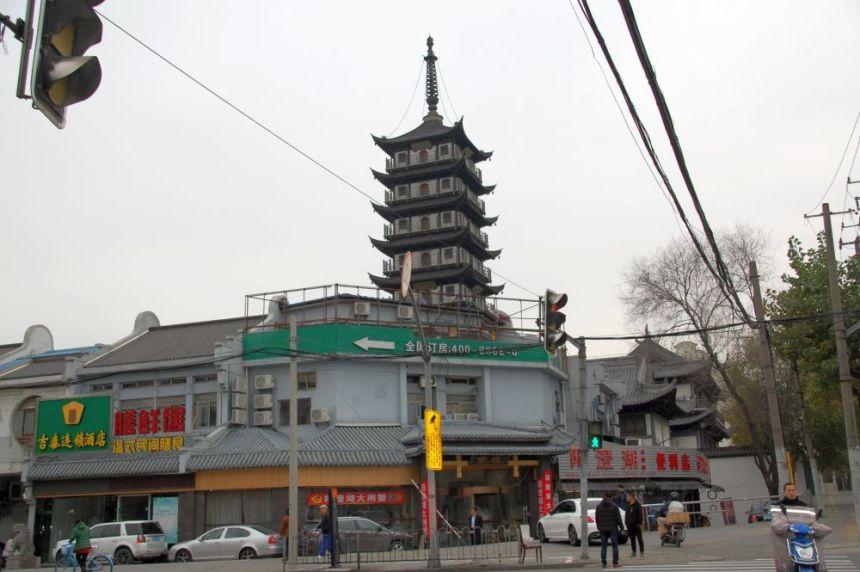 Beim Zhenru Tempel Kreuzung
