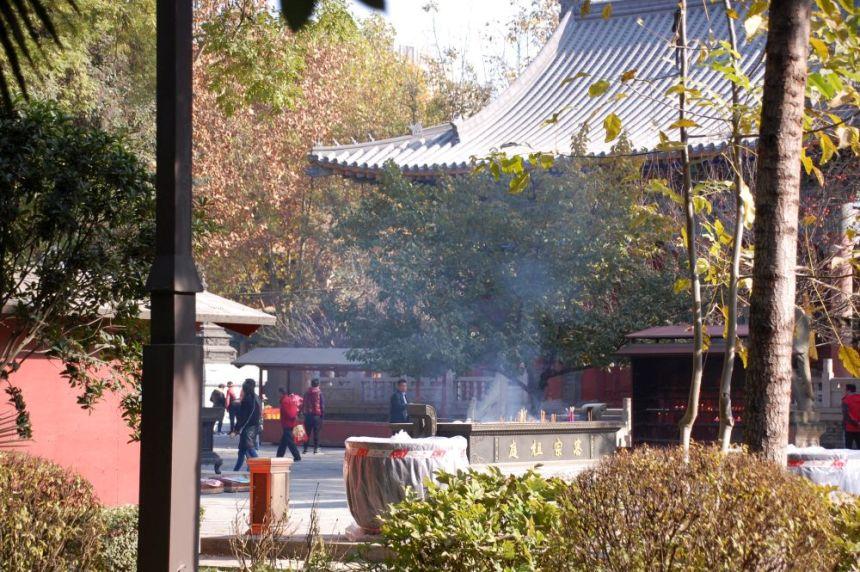 Daxing Shan Tempel