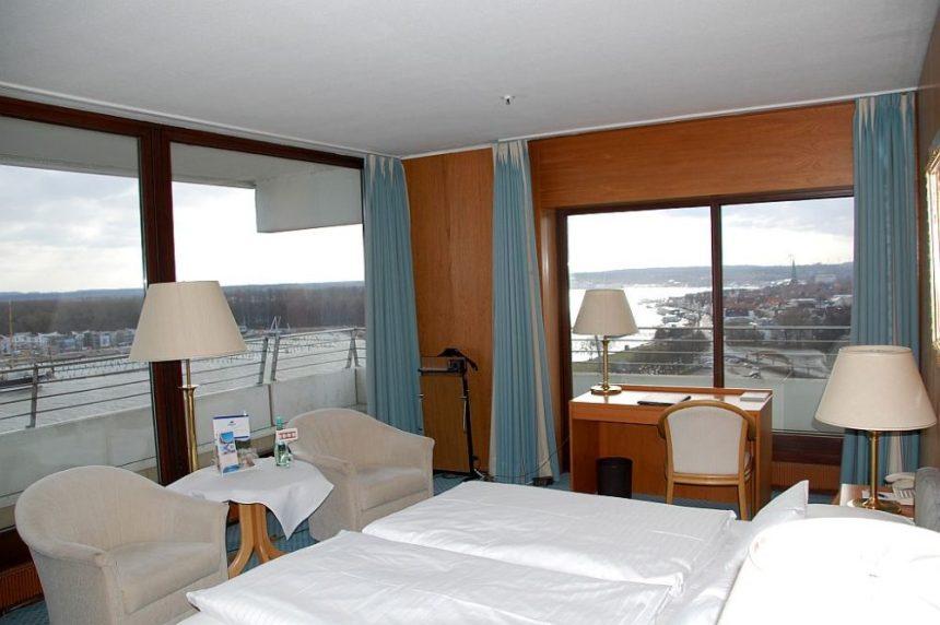 Eckzimmer im Maritim Hotel