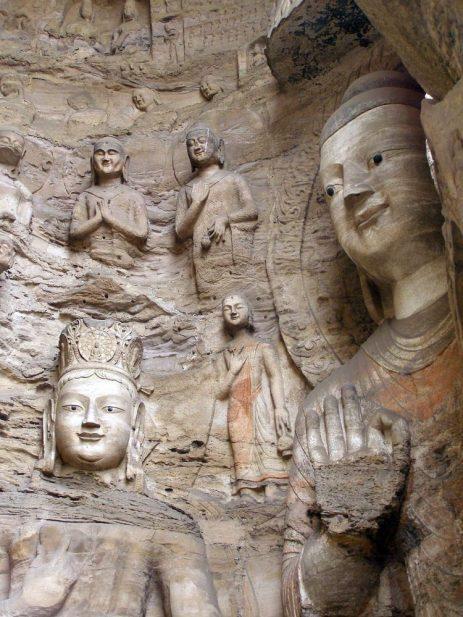 Tausendbuddha-Grotten von Yungang