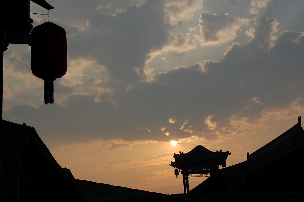 Schönste Orte: Eine Laterne, ein Pavillon, ein Sonnenuntergang - mein China, wie ich es liebe,