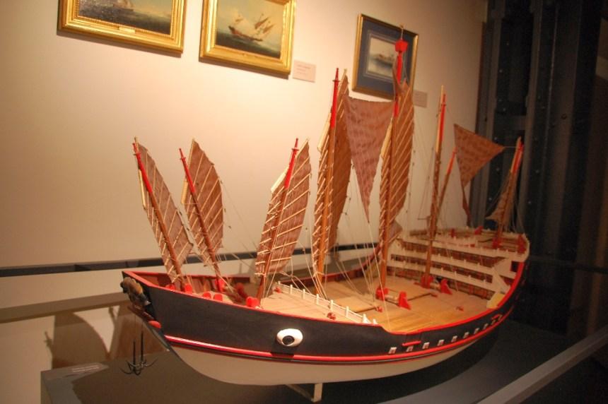 Maritimes Museum chinesisches Schiff