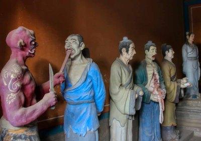 Dongyue Tempel Götter