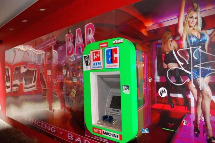 Ein Geldautomat