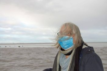 Vom Winde verweht vor den Seehundbänken