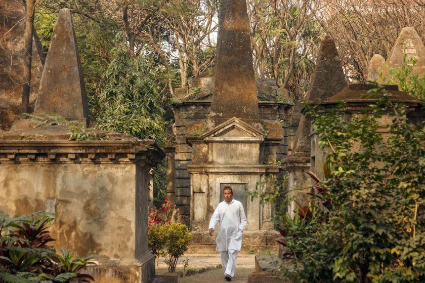 Friedhof in Calcutta