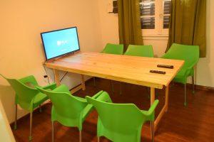 Sala de reuniones Coworking