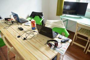 espacio para cursos, reuniones y talleres