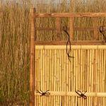 Bambuszaun für Japangärten