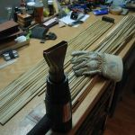 Behandlung des Bambus