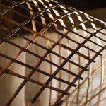 Streifen aus Bambusstäben