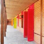 Bambus-Matten als Deckenverkleidung