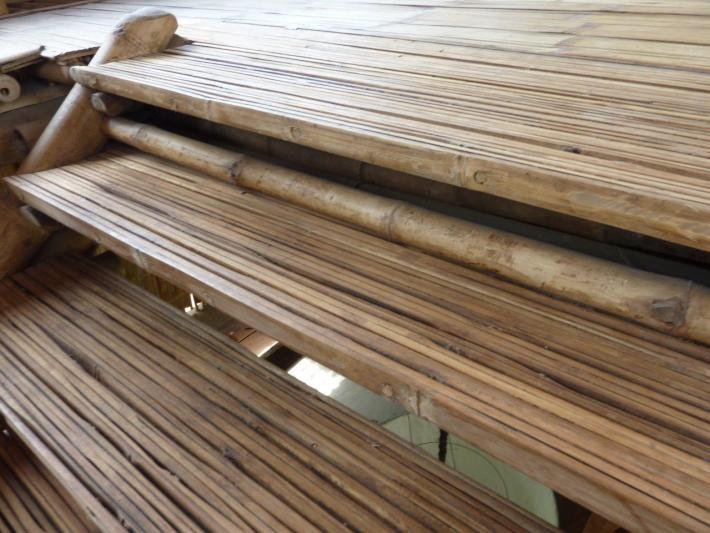 Treppenstufen aus Bambus CONBAM