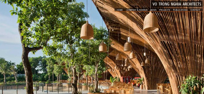 green-bamboo-architecture