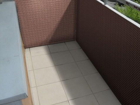 balkon sichtschutz rattan bambushandel leipzig | pe-rattan sichtschutz, höhe  m