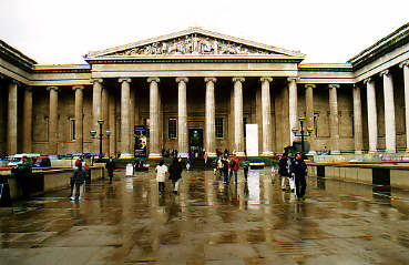 Entrance of the British Museum