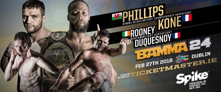 First Bouts Announced For BAMMA 24