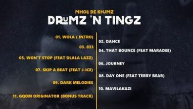 Mholi De Khumz – Won't Stop ft. Dlala Lazz