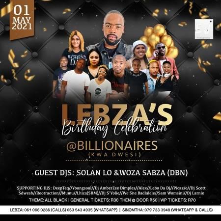 Woza Sabza – Trip To Billionaires (Lebza's Birthday Promo Mixtape)